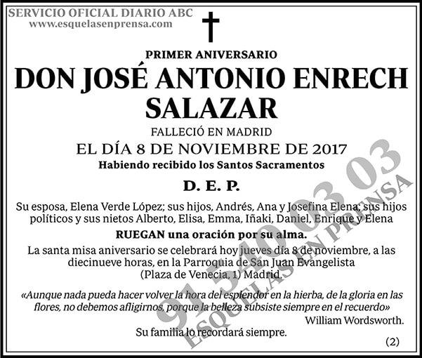José Antonio Enrech Salazar